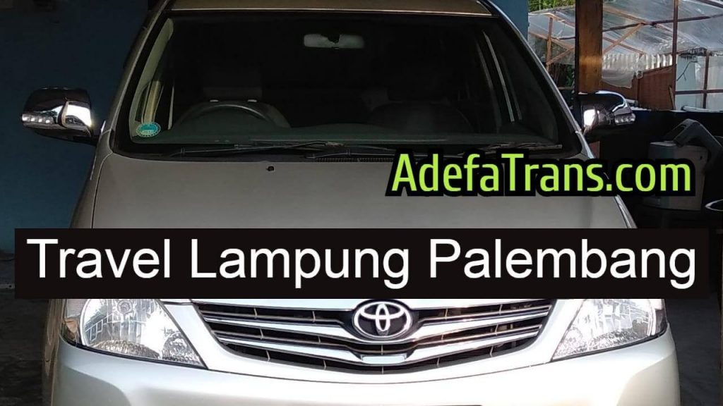 travel lampung palembang pagi