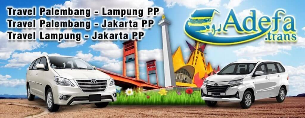 travel lampung palembang adefa