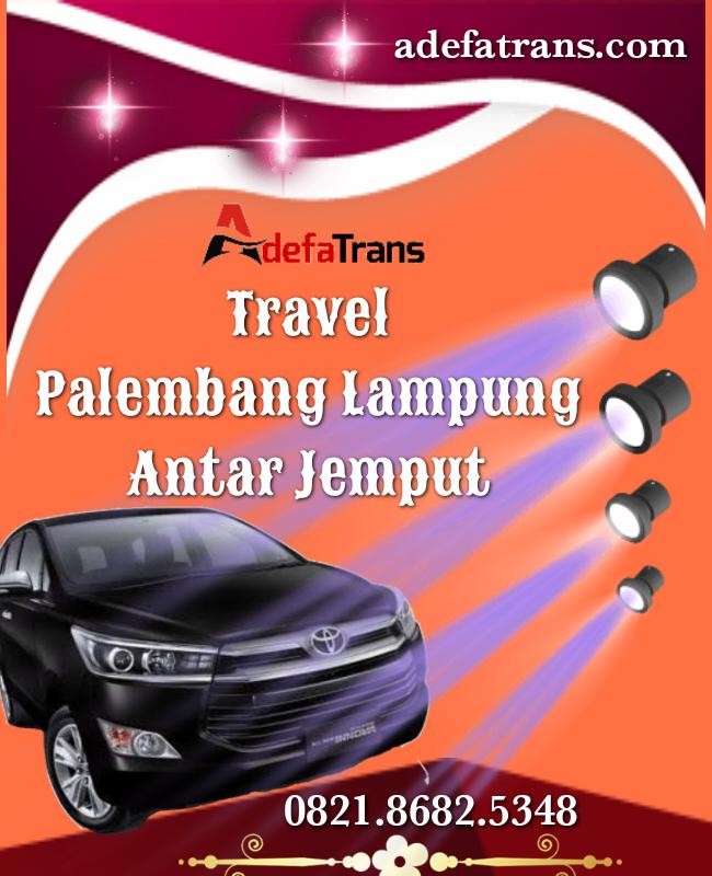 Travel Palembang Lampung Antar Jemput